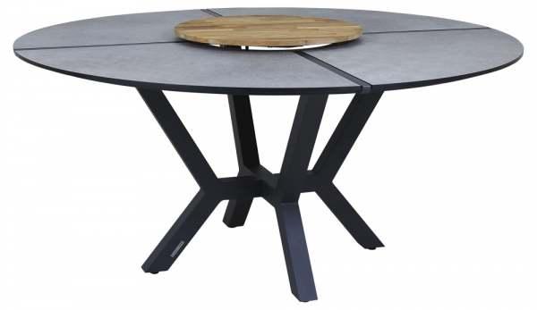 Zebra Helix Tisch inkl. Drehplatte