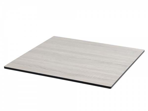 Diamond Garden Compact HPL Tischplatte mit 20° Fase Eckig