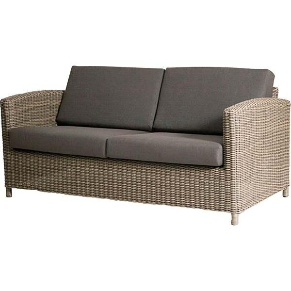4Seasons Lodge Living Sofa 2.5 -Sitzer Pure inkl. 4 Kissen