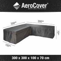 Aerocover Schutzhülle für Lounge-Sets 300x300x100xH70cm