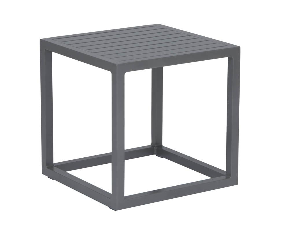 stern robin beistelltisch aluminium graphit. Black Bedroom Furniture Sets. Home Design Ideas