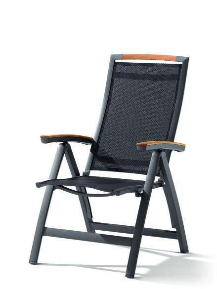 Sieger Catena Klappsessel Aluminium/Textilene