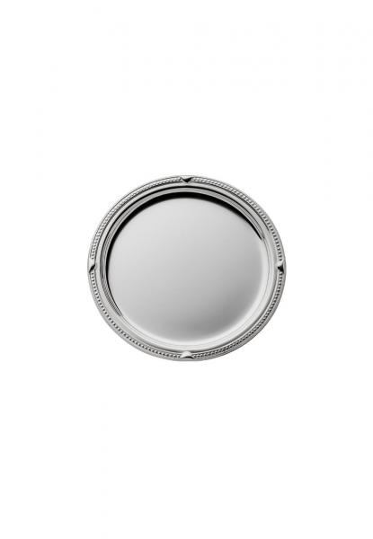 Robbe & Berking Gläserteller Französisch-Perl 925 Sterling-Silber