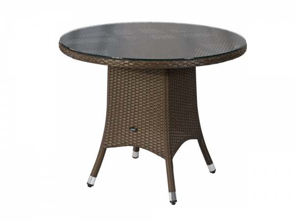 Zebra Mary Tisch rund