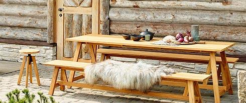 Gartenmöbel Holz