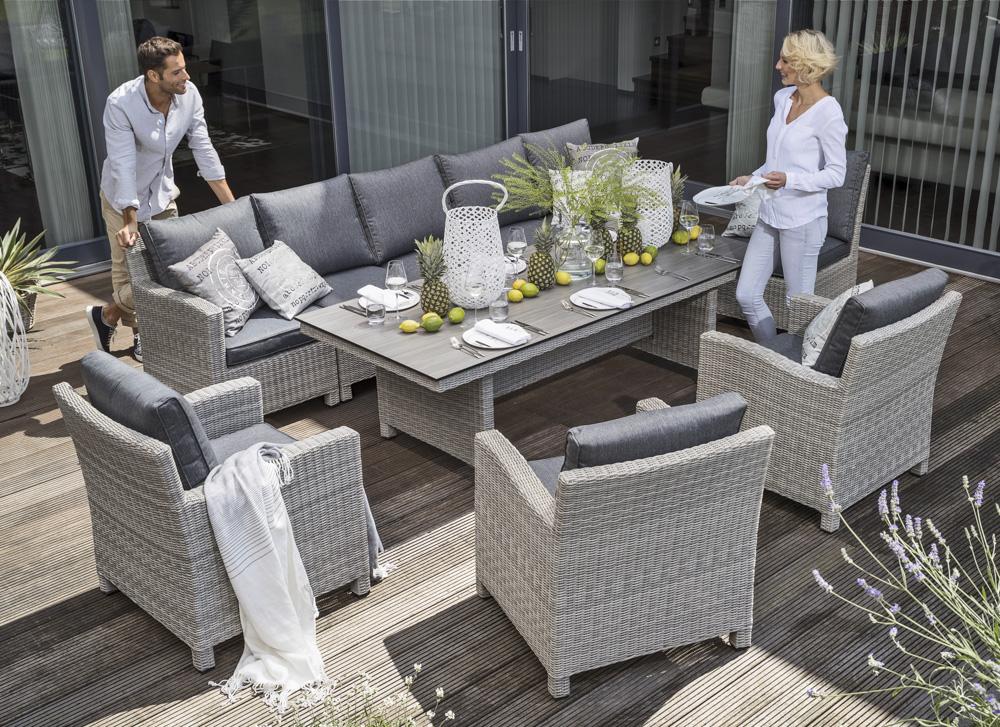 kettler palma modular lounge eckteil online kaufen beckhuis. Black Bedroom Furniture Sets. Home Design Ideas