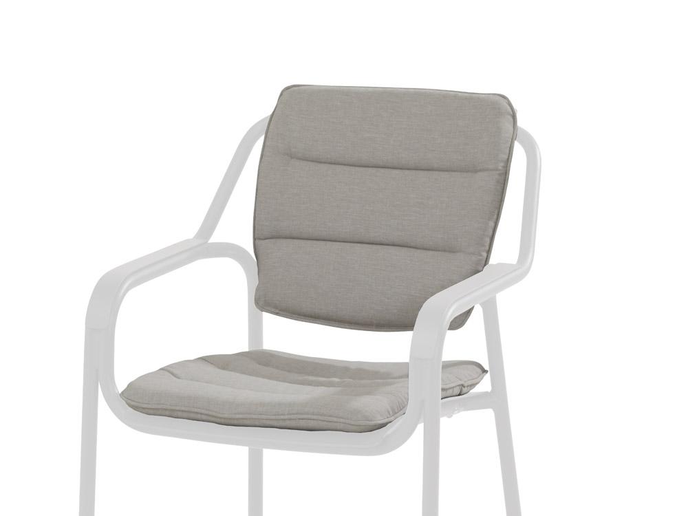 4seasons kissen sitz r cken f r eco stuhl hellgrau online kaufen beckhuis. Black Bedroom Furniture Sets. Home Design Ideas