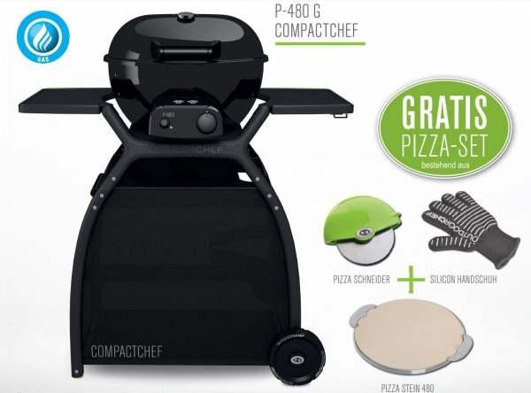 Pizzastein Für Gasgrill Outdoorchef : Outdoorchef compactchef p g gratis pizza set online kaufen