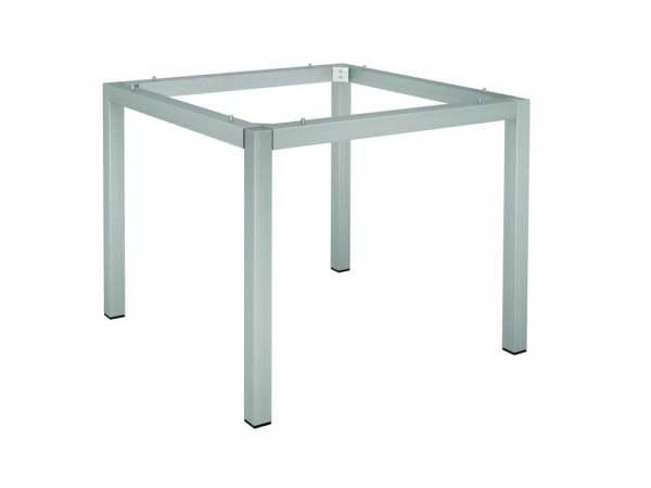 stern tischgestell edelstahl vierkantrohr 80x80 cm online kaufen beckhuis. Black Bedroom Furniture Sets. Home Design Ideas