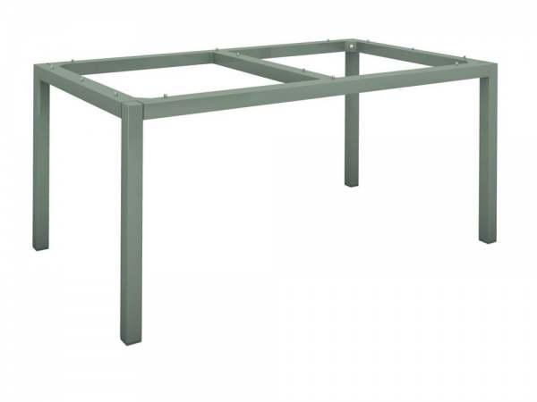 Stern Tischgestell Aluminium