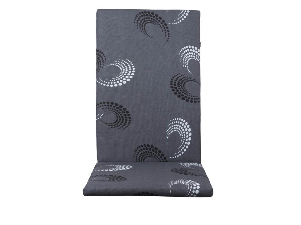 kettler premium polsterauflage dessin 890 ornament grau. Black Bedroom Furniture Sets. Home Design Ideas
