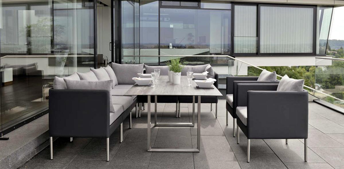 Dining Lounge - Kombinieren Sie Lounge und Essen am Tisch