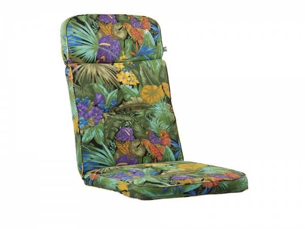 Kettler Solid Polsterauflage Dessin 194 Blume Papagei
