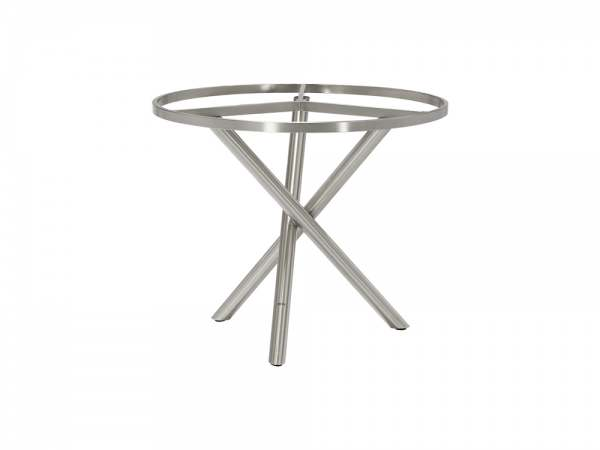 Zebra Tischgestell für Ø 110 cm Platte