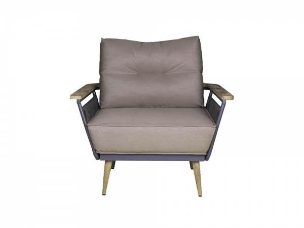 Zebra Flix Lounge Sessel inkl. Sitz- und Rückenkissen
