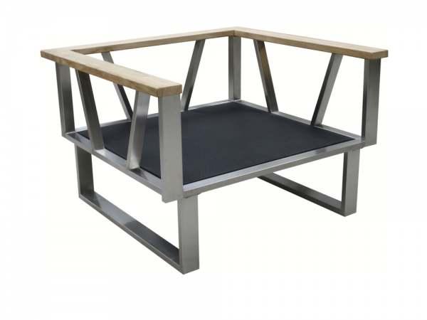 Zebra Belvedere Sessel Rahmen