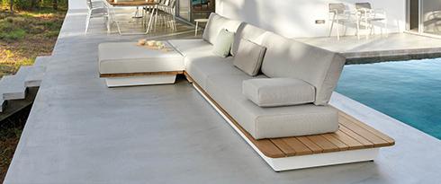 Holz Lounge Sets