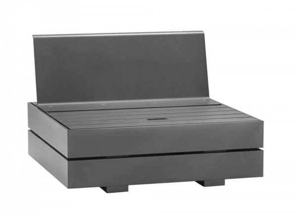 Solpuri Boxx Top-Modul Sitz-Rücken Aluminium