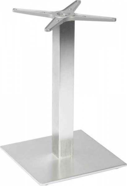 Stern Tischgestell Mailand 2 Aluminium Edelstahloptik