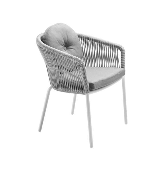 Solpuri Loop Dining Sessel inkl. Sitz-/Rücken-Polster