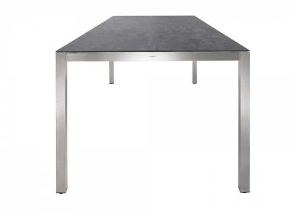 Solpuri Classic Edelstahl Tisch HPL-3D Vulcano Mud