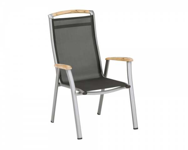 kettler memphis stapelsessel aluminium champagner mocca online kaufen beckhuis. Black Bedroom Furniture Sets. Home Design Ideas