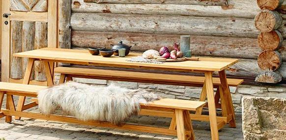 Welche Vorteile bieten Gartenmöbel aus Holz?