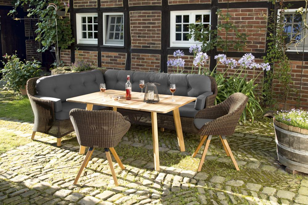 Niehoff Gartenmöbel Set Nizza 6 tlg. einfach und günstig online kaufen