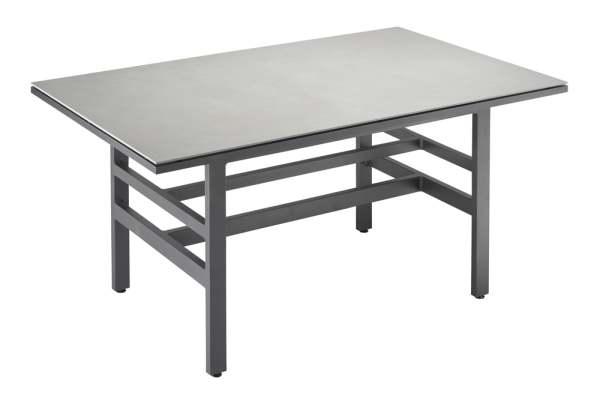 Outdoorlabel Lounge Diningtisch large 79 Aluminium/Keramik
