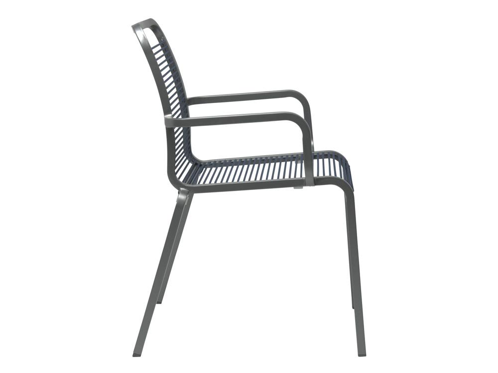 stern oskar rope stapelsessel aluminium graphit jeans online kaufen beckhuis. Black Bedroom Furniture Sets. Home Design Ideas