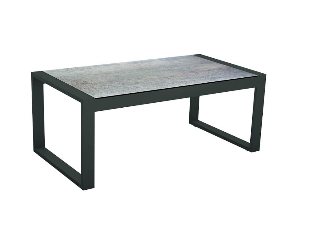 stern allround beistelltisch aluminium mit silverstar tischplatte anthrazit smoky. Black Bedroom Furniture Sets. Home Design Ideas