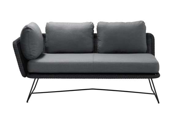 Cane-Line Horizon 2-Sitzer Modulsofa inkl.Kissensatz