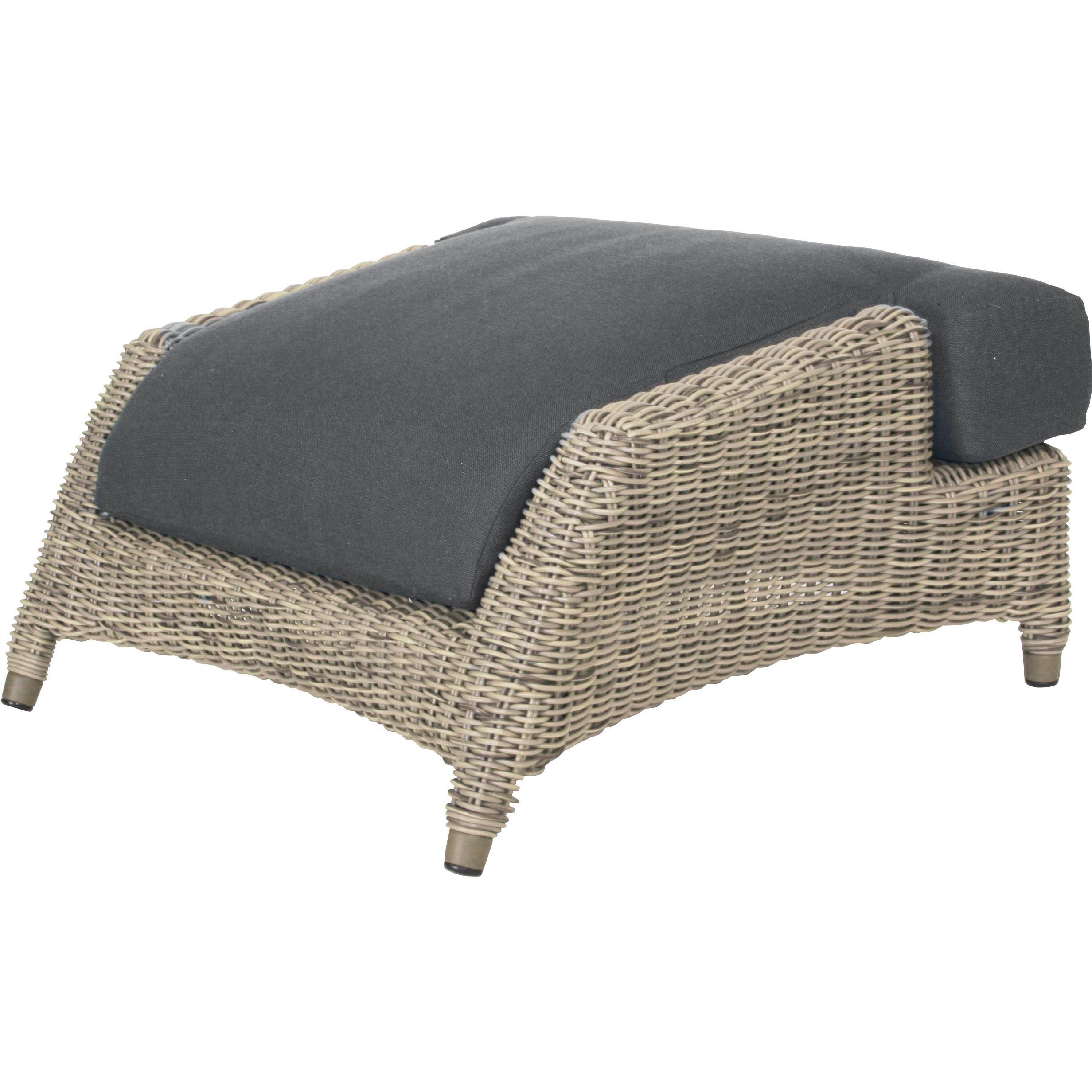 4seasons valentine fu hocker pure inkl kissen online kaufen beckhuis. Black Bedroom Furniture Sets. Home Design Ideas