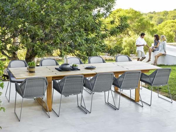 Cane-Line Breeze Gartenmöbel Set 11-tlg. mit Endless Esstisch