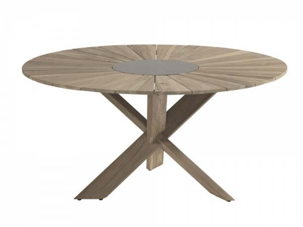 Hartman Provence Tisch Rund Holz Gartentische Gartenmobel Beckhuis