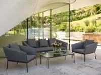 Stern Finn Lounge Set Aluminium Anthrazit inkl. Schutzhülle