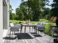 Sieger Morena Gartenmöbelset 6tlg. mit Lofttisch 160x90 cm