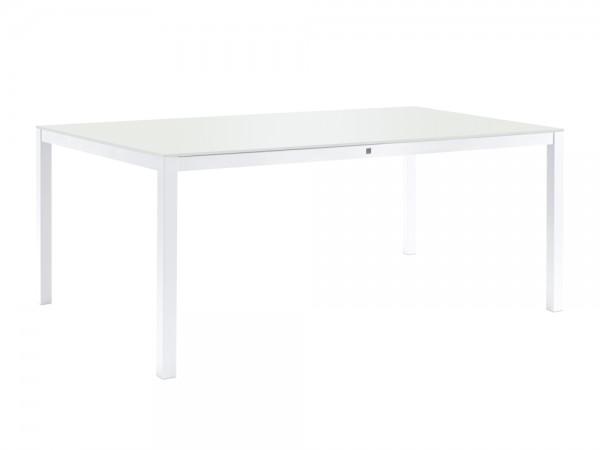 Sifas Kwadra Dining-Tisch 240x100 cm inkl. Glasplatte