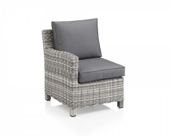 kettler palma modular lounge endteil links salt 39 n 39 pepper. Black Bedroom Furniture Sets. Home Design Ideas