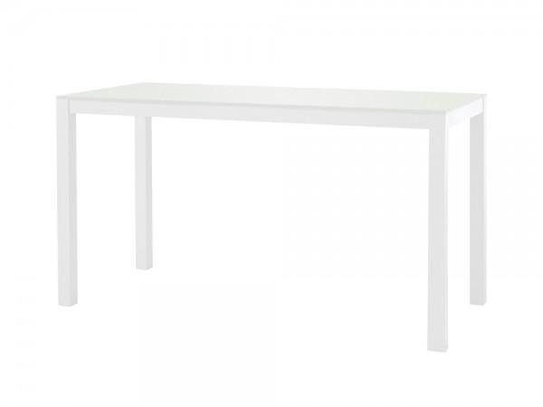 sifas kwadra dining tisch 140x60 cm inkl glasplatte blanc. Black Bedroom Furniture Sets. Home Design Ideas