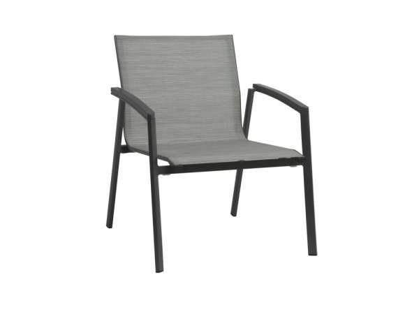 Stern New Top Lounge-Stapelsessel Aluminium