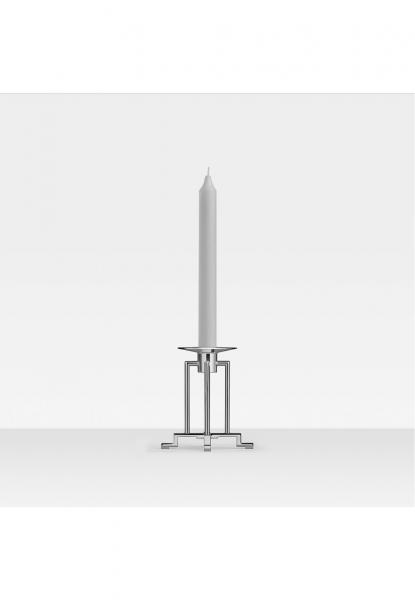 Robbe & Berking 1-lichtiger Leuchter klein Sphinx 925 Sterling-Silber
