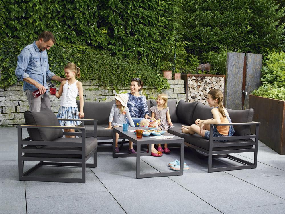 sieger sydney garten lounge 5 tlg online kaufen beckhuis. Black Bedroom Furniture Sets. Home Design Ideas