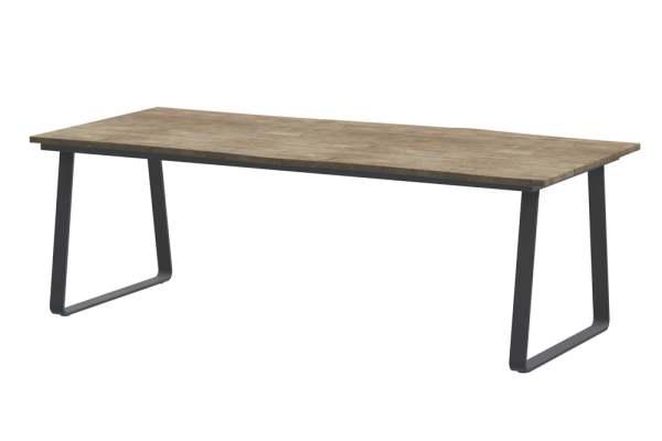 4Seasons Konos Gartentisch Aluminium 220x95 cm