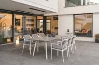 Stern Vanda Gartenmöbelset 7tlg. mit Gartentisch Interno 220x100 cm