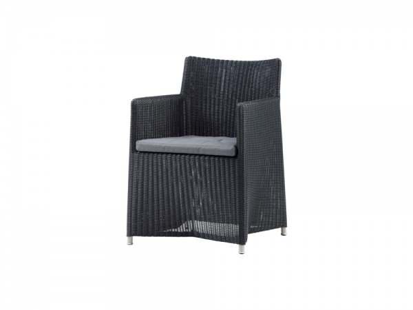 Cane-Line Diamond Stuhl inkl. Kissen