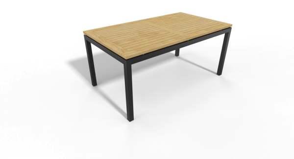 Stern Gartentisch Aluminium/Teak