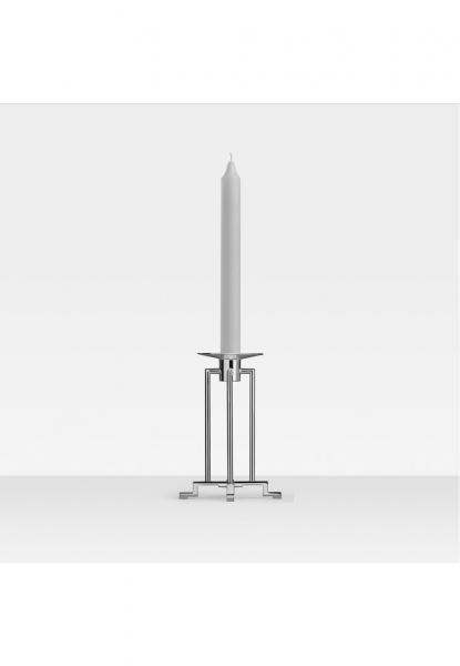 Robbe & Berking 1-lichtiger Leuchter groß Sphinx 925 Sterling-Silber