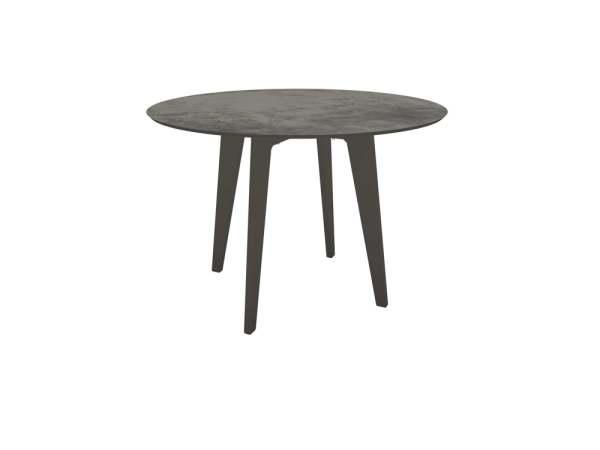 Stern Tisch Ø 110 cm Aluminium mit Tischplatte Silverstar 2.0
