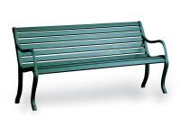 Fast Oasi 3-Sitzer Bank Weiß